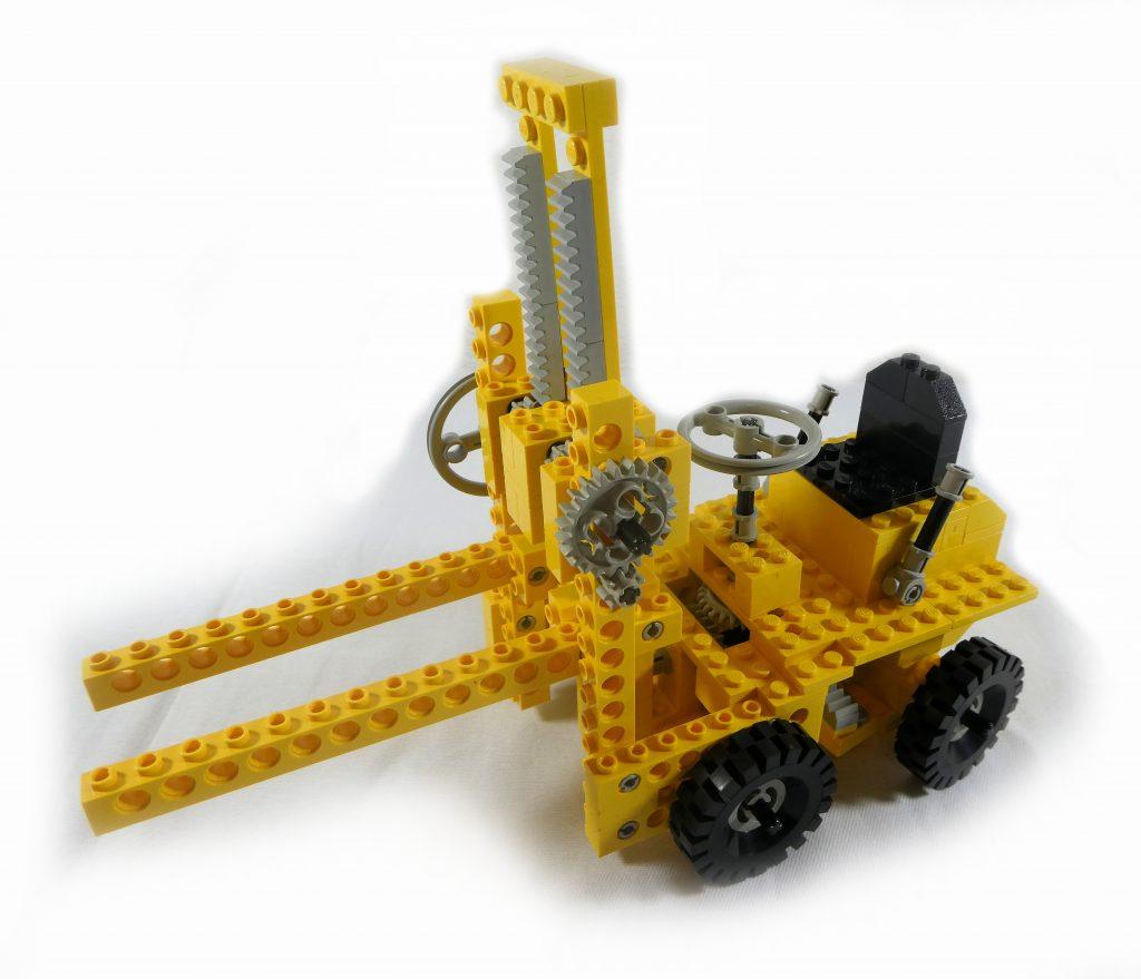 LEGO Technik Set 850 Gabelstapler